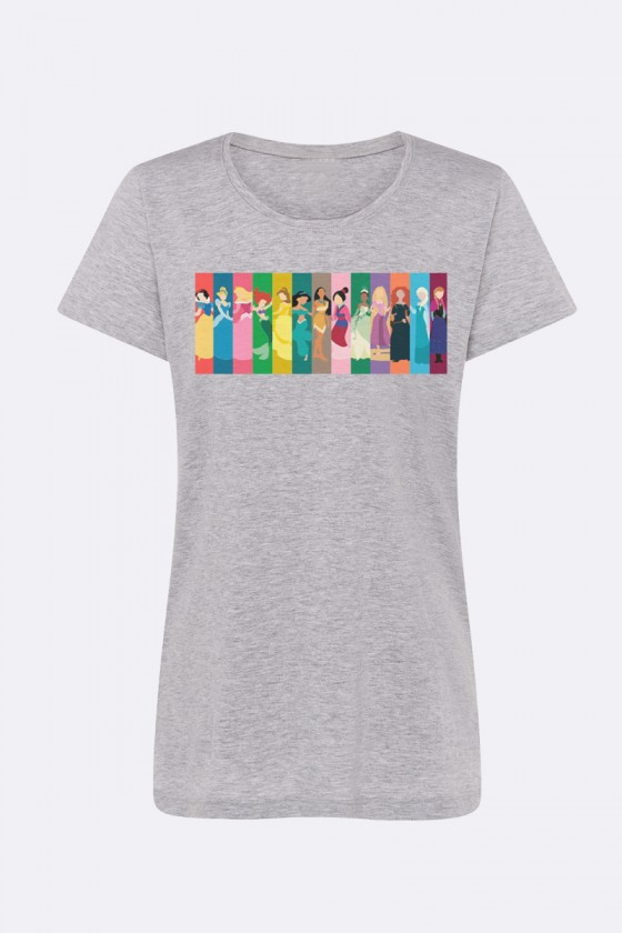 Camiseta Princesas