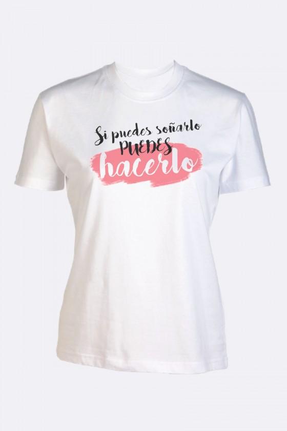 """Camiseta """"Si puedes.."""""""
