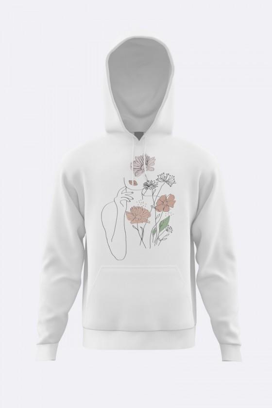 Sudadera Flowers