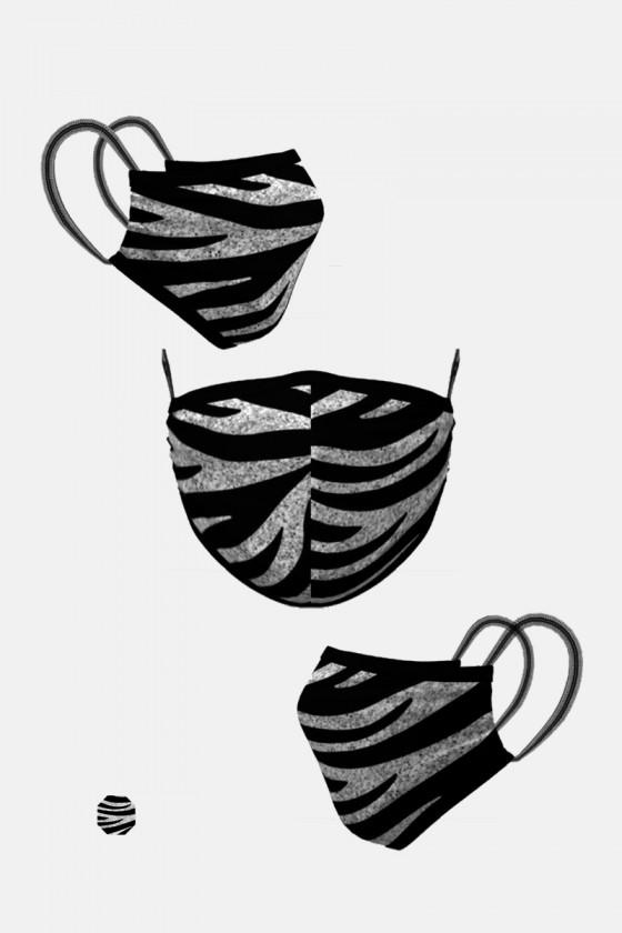 Mascarilla Cebra
