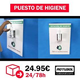 ENTREGA INMEDIATA  Puesto de higiene con gel incluido  Escasas unidades ♥️🔥 #Rotusol #RotusolLaboral