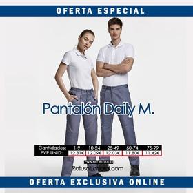 Para hombre y mujer pantalones multibolsillos en varios colores y disponibles desde la 38/60 #Rotusol #RotusolLaboral #Roly #Daily #vestuarioLaboral